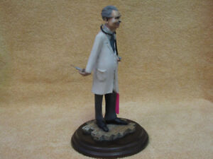 COUNTRY ARTIST DOCTOR FIGURINE
