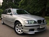 2003 BMW 318 i 3 series TOURING M SPORT AUTO BLUETOOTH LEATHERS Fully Loaded - Long M.O.T not Diesel