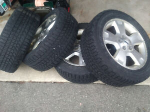 Winterforce tires and rims