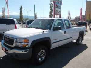 2006 GMC Sierra 2500HD Ext Cab  4WD