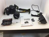 Nikon D3300 kit & extra lens & extras bargain
