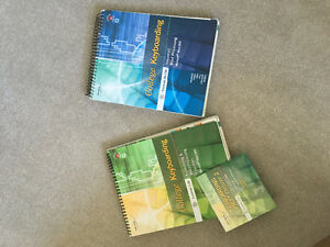 College keyboarding books lessons 1-120 with CD