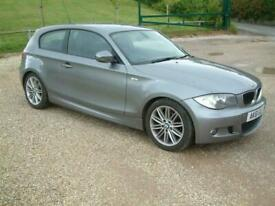 image for 2011 BMW 1 Series 116i [2.0] M Sport 3dr GRAPHITE GREY WITH BLACK BOSTON LEATHER