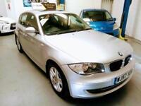 PRISTINE BMW 1 SERIES 120 DIESEL AUTOMATIC, ONLY 64k, FSH, NEW MOT & WARRANTY