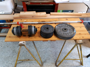 Barbell & Dumbell weights