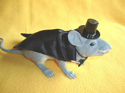 Tuxedo with Tails and Top Hat Costume for Rat from Petrats