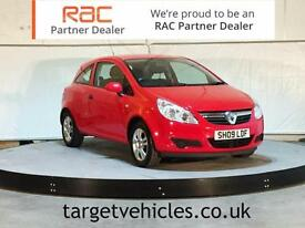 2009 VAUXHALL CORSA 1.3CDTi ECOFLEX ACTIVE ~£30 ROAD TAX~74 MPG~RAC WARRANTY~