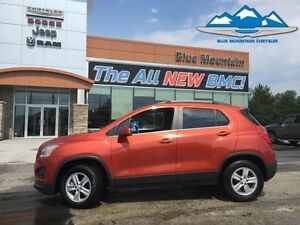 2016 Chevrolet Trax 1LT  ACCIDENT FREE, CERTIFIED/ETESTED, BLUET