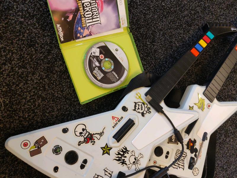 Guitar Hero 3 - XBOX 360 - WITH GUITARS | in Heathrow, London | Gumtree