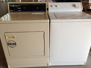 Whirlpool washer and Kenmore dryer, very good working condition