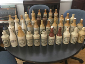 Halifax Ginger Beer Bottle Collection