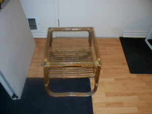 Bamboo End Table   Act Fast Won't Last Long