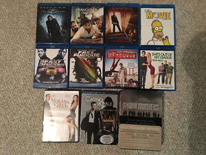 Various Blurays and DVDs