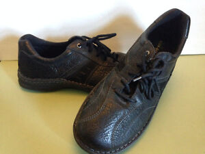 Columbia Black Leather Causal Dress Shoes Size 13
