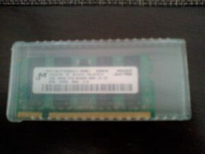 Crucial 2GB Single DDR2 800MHz PC2-6400 CL6 SODIMM 200-Pin Noteb