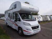 Dethleffs Sunlight A68 2016 2300CC Manual 6 Speed Deisel 6 Berth 6 Belts