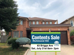 SMSC CONTENT SALE IN RICHMOND HILL- SAT, JULY 21ST 8AM-2PM!