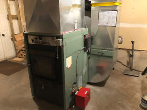 Max Caddy Wood/Oil Combination Furnace