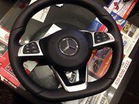 Mercedes c class w205 amg sport airbag steering wheel