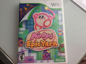 Kirby's Epic Yarn complet en parfaite condition - 40$