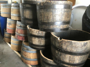 WHISKEY PLANTERS $55 EACH. WINE PLANTERS $65 EACH.