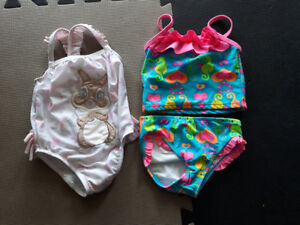 Girl Size 12-18 Months Bathing Suits (prices listed)