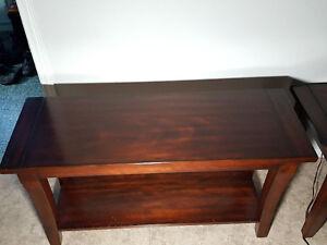 Meuble de télé et table d'appoint