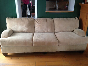 Long Cordoroy Sofa