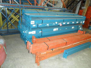 Used industrial racking for sale.