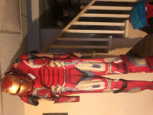 Iron man costume new with tags size large