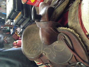 Saddle and accessories