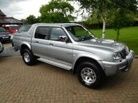 2003 Mitsubishi L200 2.5 TD Ltd Warrior 71000 Miles !!!!