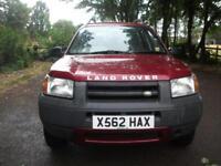 Land Rover Freelander 1.8i 2000 12 MONTHS WARRANTY