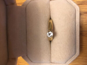 New!! Solitaire engagement ring