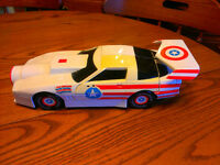 CAPTAIN AMERICA CAR, TOW TRUCK AND HELICOPTER