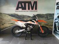 KTM SXF450 2017 MOTOCROSS BIKE, STANDARD TRIM, CLEAN & TIDY (ATMOTORCYCLES)