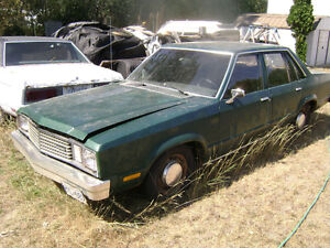 1978 Ford Fairmont Sedan 3 speed standard
