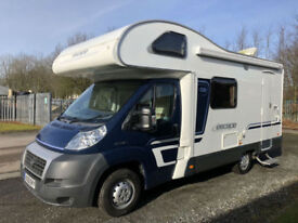 Swift Escape Coachbuilt Motorhome Fiat Ducato Diesel 5 Berth 624 Low miles Solar