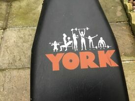 YORK adjustable weight bench