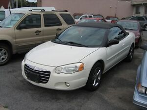 2005 Chrysler Sebring Convertible Touring V6