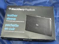Blackberry Playbook leather sleeve