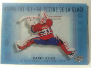 Tim Hortons 2015 - 2016 Above the Ice Carey Price