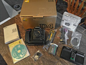 NIKON D4 - EXCELLENT CONDITION WITH ORIGINAL PACKAGING