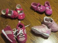 baby girl size 3 shoes - all for $10