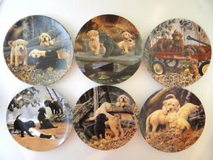 DOG DAYS Complete Plate Collection by Jerry Gadamus