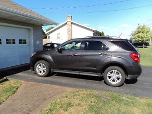 2013 Chevrolet Equinox black SUV, Crossover