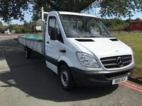MERCEDES SPRINTER 313 3.5T XLWB EXTRA LONG 19FT 9INS LOAD LENGTH DROPSIDE