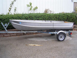Looking for 10-12 ft aluminum boat and trailer