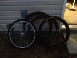bike tires barely used