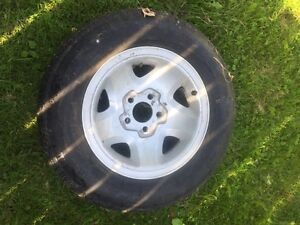 Rims from a Chevy s10